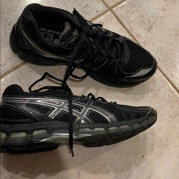 Gel Kayano 20 Black Sneakers Size